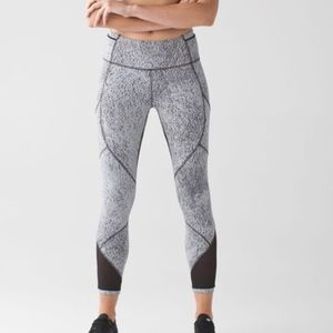Lululemon Outrun Tight Luxtreme Jacquard Leggings